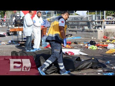 Luto en Turquía por atentados en Ankara/ Excélsior en la media