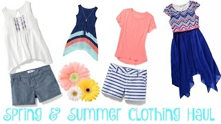 Spring & Summer Clothing Haul | 12 Year Old Daughter ~ Old Navy & Kohl's