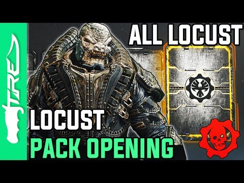 ALL LOCUST GEAR PACKS ARE BACK! - Gears of War 4 Gear Packs Opening - 18 LOCUST COLLECTION PACKS!