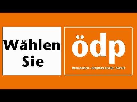 """ÖDP Wahlwerbung Kreisverband Ravensburg Ihr Kandidat für den Bundestag 2017 """"Thomas Bergmann"""""""