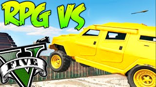 GTA 5 ONLINE RPG VS EPIC INSURGENT !! MINIJUEGO GTA V ONLINE Makiman