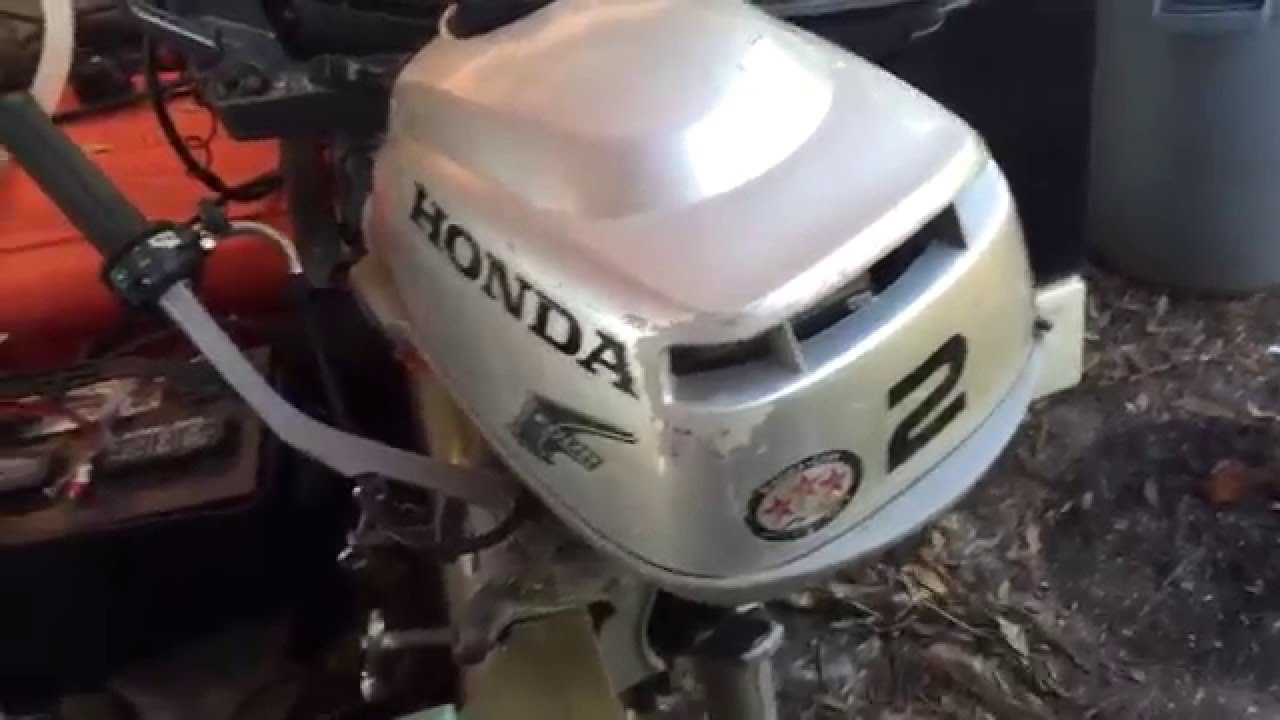 Honda 2 hp outboard boat motor review youtube for Honda outboard motor prices