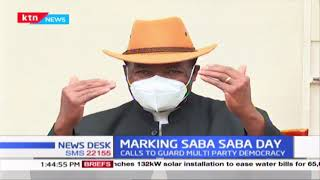 Marking Saba Saba Day: Calls to guard multi-party democracy