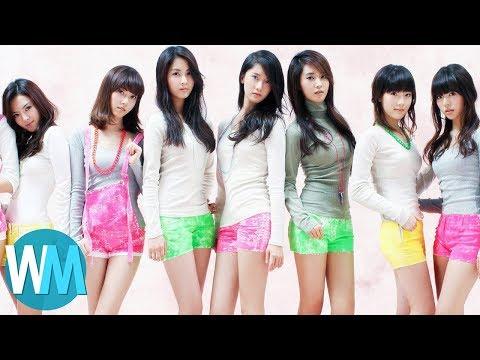 Cover Lagu Top 10 K-Pop Music Videos STAFABAND
