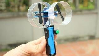 Cara membuat kipas tangan listrik mini