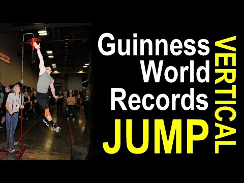 Guinness World Records Vertical Jump Compilation 2016