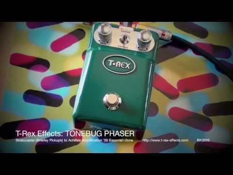 T-Rex Effects: Tonebug Phaser - Strat to Bassman