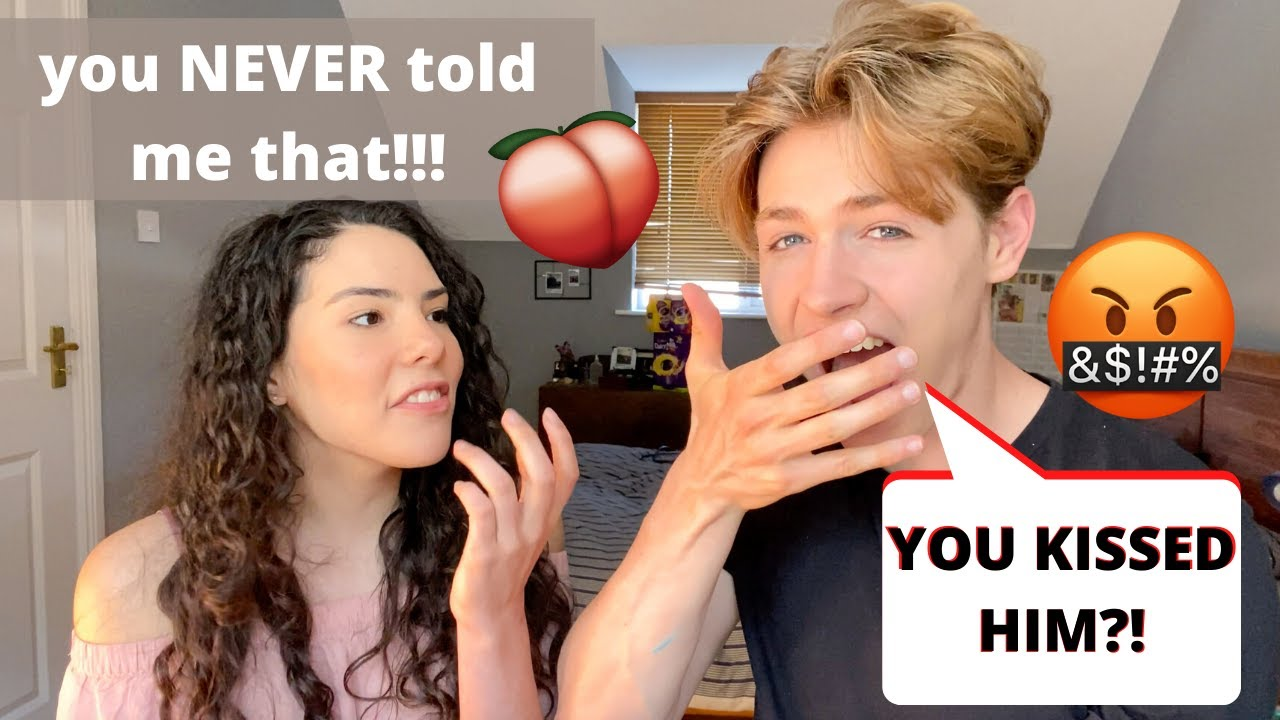 Couple QUIZ Each Other on Their PAST (she goes LATINA on me!!) | Andrea & Lewis
