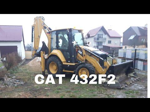 CAT 432F2 2019 Remove Foundation ! Usuwanie Fundamentu Koparko-ładowarką #lukaszbudowlaniec