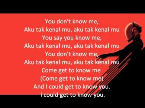 Aku Tak Kenalmu Joe Flizzow Zamaera Lyrics