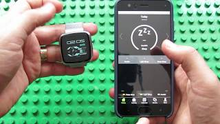 No.1 G12 Heart Rate Monitor Smartwatch & Hplus Android application
