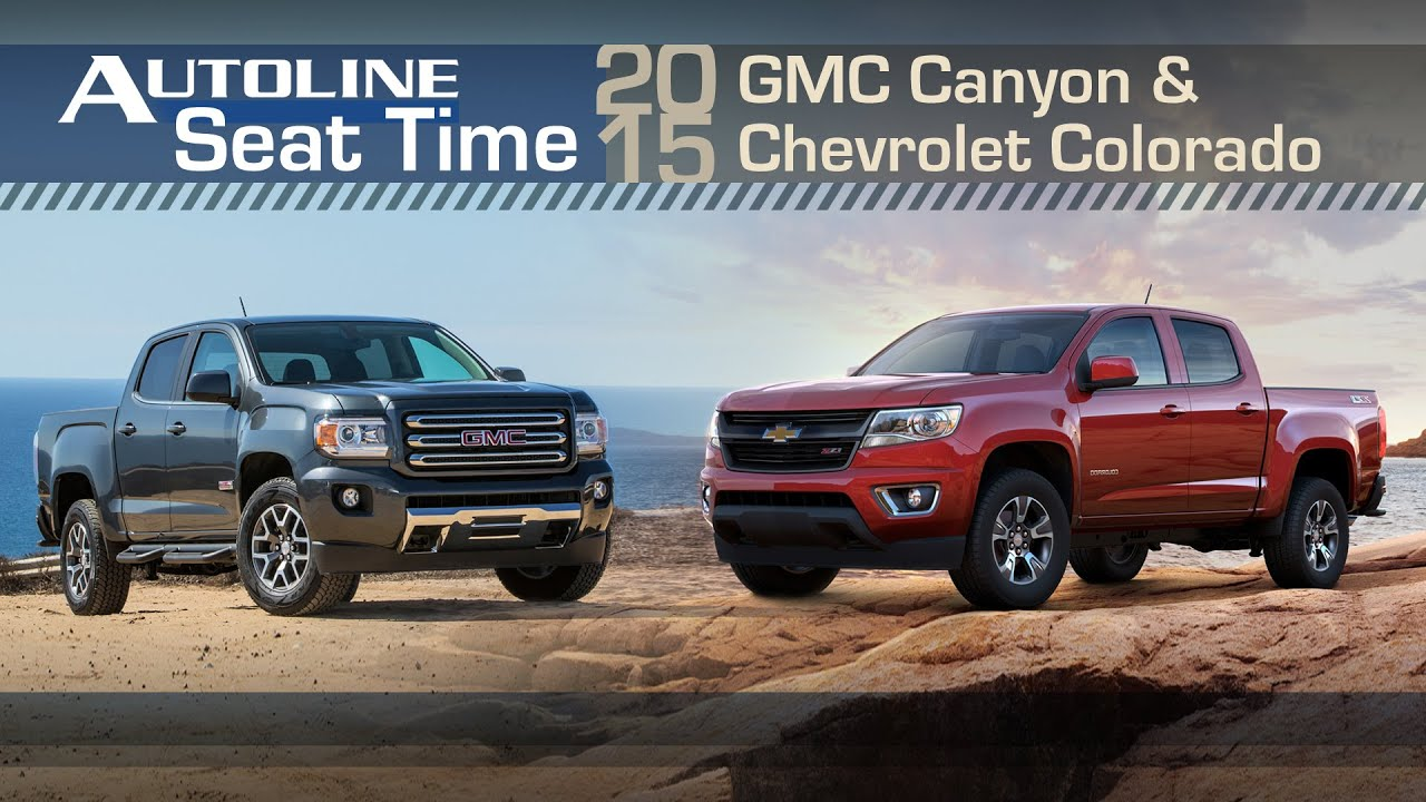 Chevy Colorado Vs Gmc Canyon