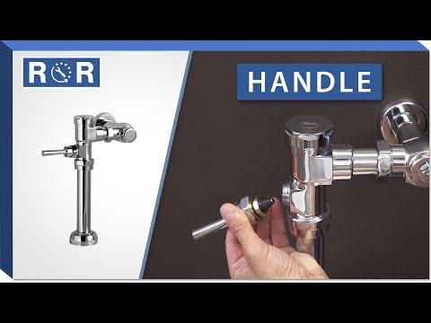 American Standard Manual Flushometer   Handle   Repair And Replace