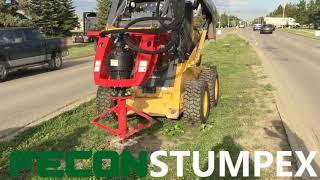 Fecon Stumpex Stump Grinder