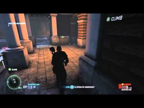 Splinter Cell Blacklist | Egyptian Embassy | Realistic | Wave 01-10 | SOLO