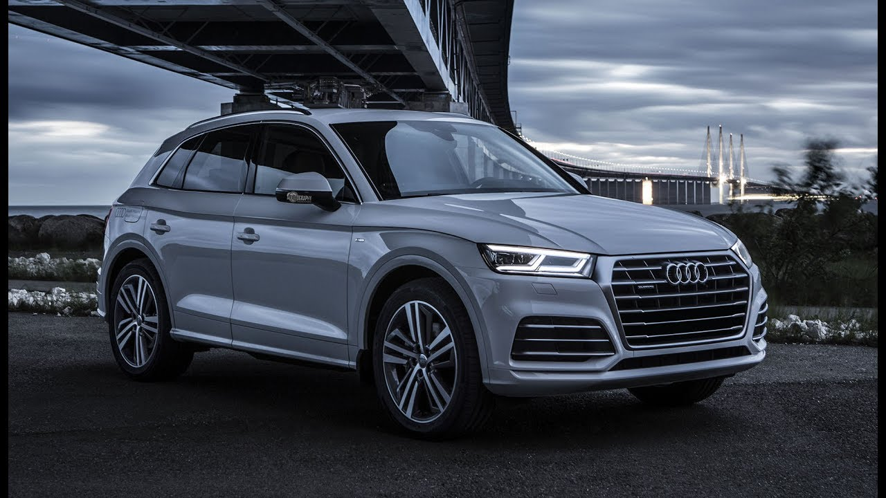 New 2018 Audi Q5 Quattro S Line Details Exterior Slow Motion Drift Etc