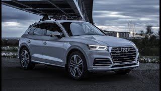 THE BEST SUV? - NEW 2018 AUDI Q5 quattro S-line - (Details, exterior, slow motion drift etc)