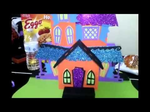 halloween crafts made of foam youtube
