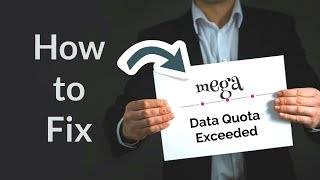 Mega bandwidth limit exceeded fix