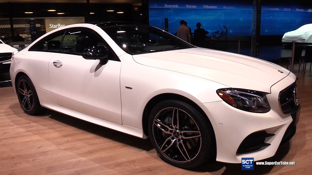 small resolution of 2018 mercedes e class coupe e400 exterior interior walkaround debut at 2017 detroit auto show youtube
