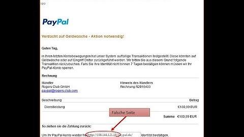 Ihr Paypal-Konto wurde gesperrt Ihr Handeln ist erforderlich -Passwort