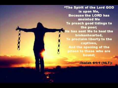 Image result for Isaiah 61:1