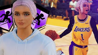 She Scored 54 on Luka Doncic… 2K Let Me Use The First Female 99 Overall MyPlayer.