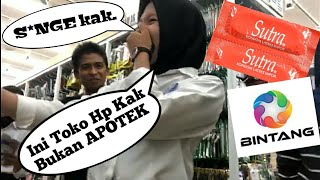 💫 PRANK K0NDOM BINTANG INDONESIA🇲🇨 AUTO RU5UH SAMPAI S*NG3 di Toko Accesoris HP Makassar