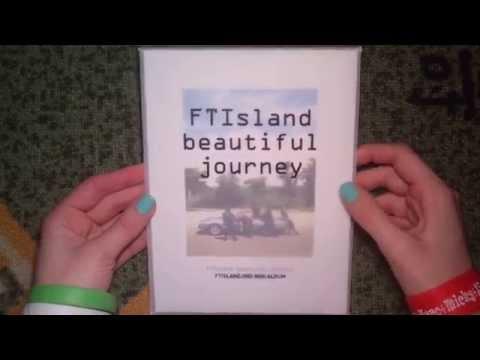 Unboxing FT Island 에프티 아일랜드 2nd Mini Album Beautiful Journey