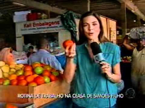 Rotina de trabalho na Ceasa de Simões Filho - 04.08.2011.asf