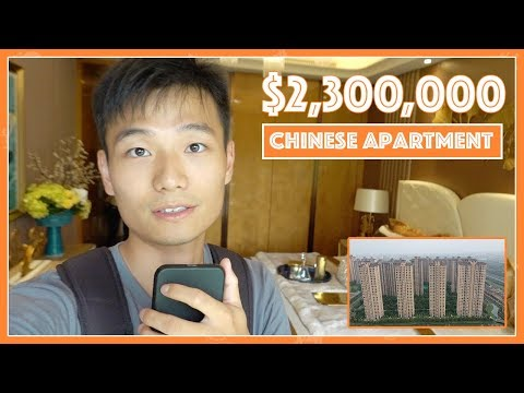 $2.3 MILLION High-End Chinese Apartment Tour   參觀中國大陸的高端住宅