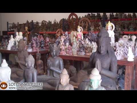 Lotus Sculpture Warehouse San Diego, Oceanside CA Hindu Buddha Statues
