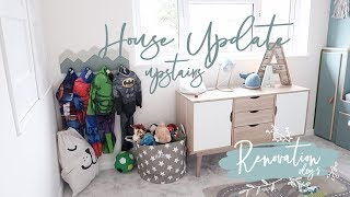 HUGE HOUSE UPDATE! UPSTAIRS! | BEFORE & AFTER | RENOVATION VLOG 5