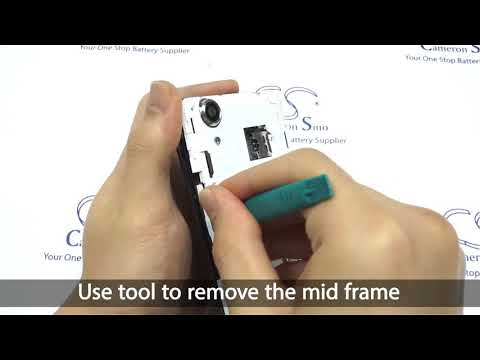 WIKO Rainbow UP battery replacement    How to replace Cameron Sino battery CS-WKR005SL