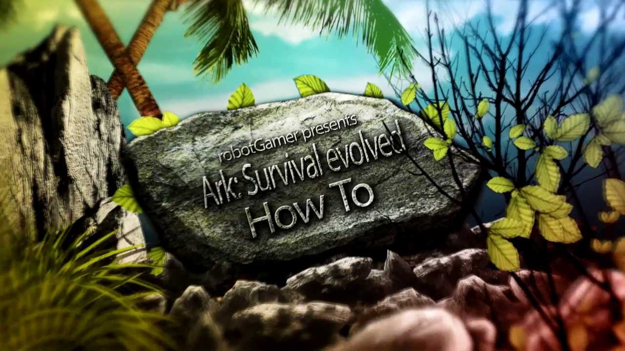 Ark survival evolved spawn in items how to youtube