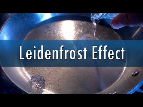 Leidenfrost Effect - Hot pan + Water