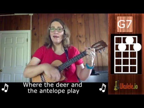 Home on the Range Ukulele Tutorial Lesson - 21 Songs in 6 Days: Learn Ukulele the Easy Way