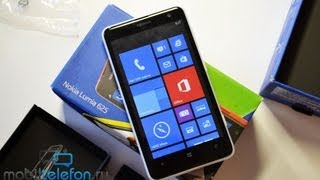 Распаковка Nokia Lumia 625 с 4,7