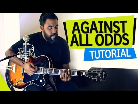 Against All Odds Easy Guitar Tutorial - Phil Collins