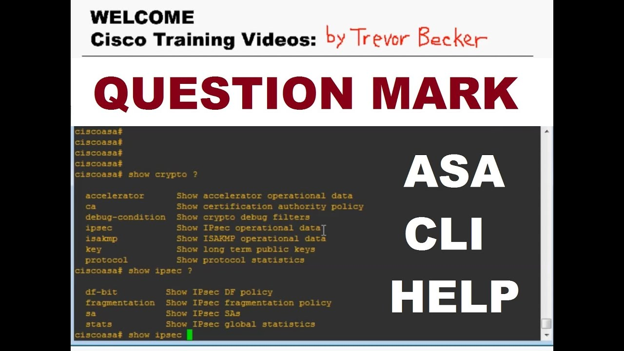 Understanding question mark feature intro to asa firewalls understanding question mark feature intro to asa firewalls cisco training videos 1betcityfo Gallery