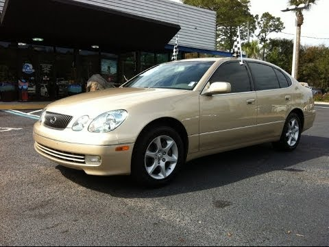 2003 lexus gs 300 at autoline preowned for sale used test. Black Bedroom Furniture Sets. Home Design Ideas