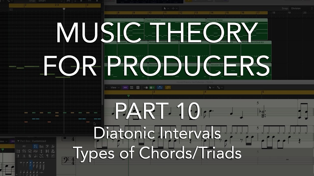 Music theory for producers 10 diatonic intervals types of music theory for producers 10 diatonic intervals types of chordstriads hexwebz Image collections