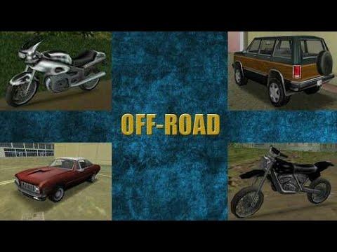 Off road görevleri ve telefon kulübesi! Gta vice city mobil %100 bitirme