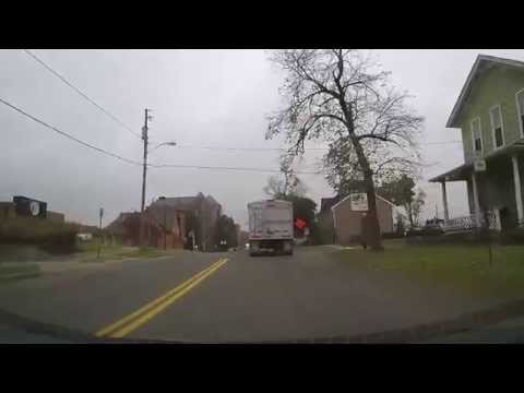 Driving through Millersburg to Berlin, Ohio in the Amish Country