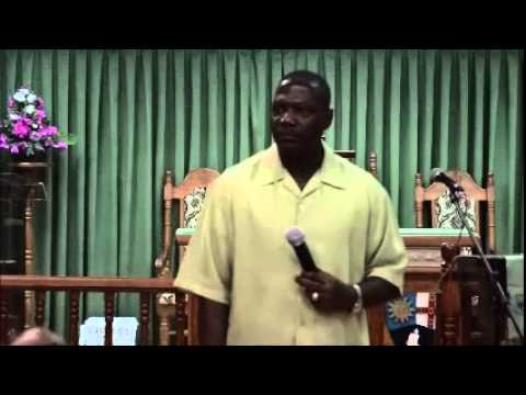 San Fernando Methodist Church, Rev. Dr. Marlon Hestick of Guyana - July 15, 2015 - Trinidad & Tobago