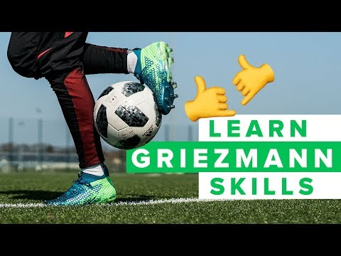 LEARN GRIEZMANN FOOTBALL SKILLS | How to dribble like Antoine Griezmann