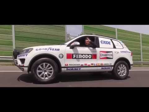 Goodyear: Rainer Zietlow's Eurasia World Record Drive