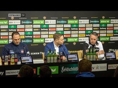 26. Spieltag | SGD - FCH | Pressekonferenz nach dem Spiel