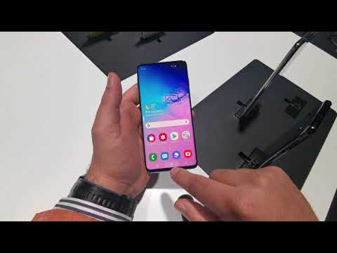 Samsung Galaxy S10 Hands on Preview [Greek]