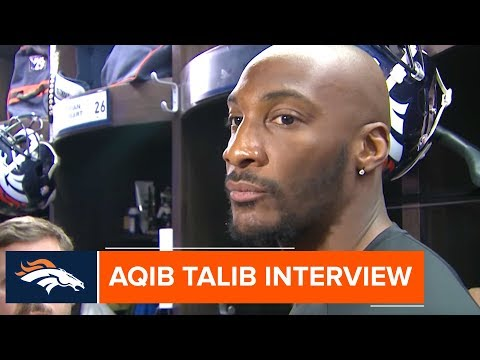 Aqib Talib addresses Sunday